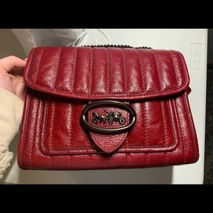 Coach Melody Bag in Deep Red